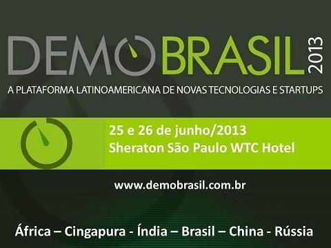 La première édition latino-américaine de DEMO Brasil sera organisée les 25 et 26 juin à São Paulo